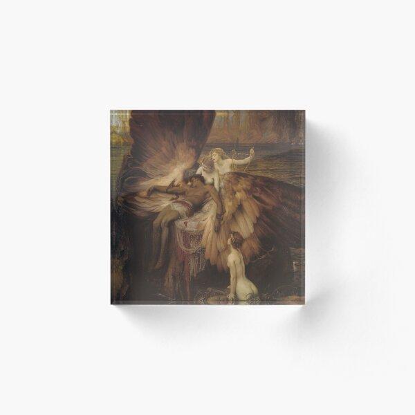 Herbert Draper - The Lament for Icarus Acrylic Block
