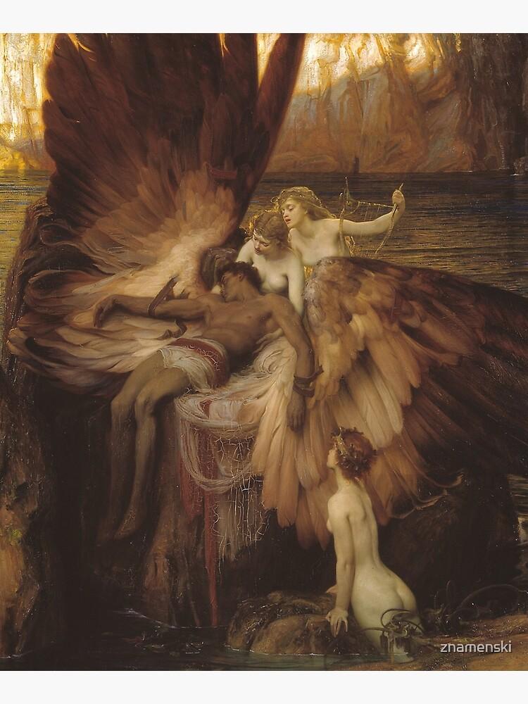 Herbert Draper - The Lament for Icarus by znamenski