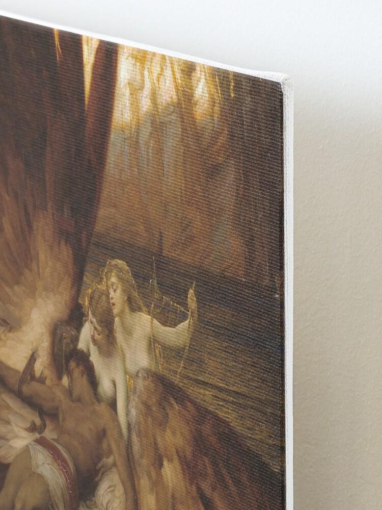 Alternate view of Herbert Draper - The Lament for Icarus Mounted Print