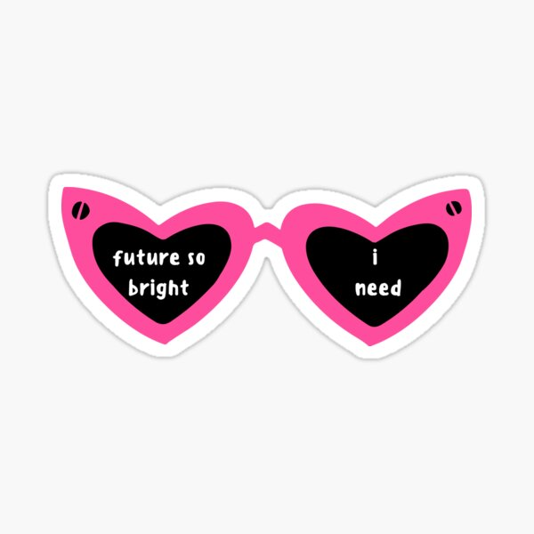 Future so Bright Sticker