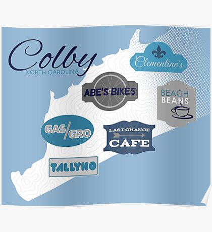 Visit Colby Poster