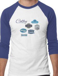 Visit Colby Men's Baseball ¾ T-Shirt