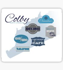 Visit Colby Sticker