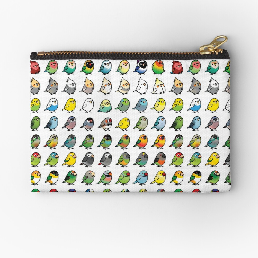 Everybirdy Collection Zipper Pouch