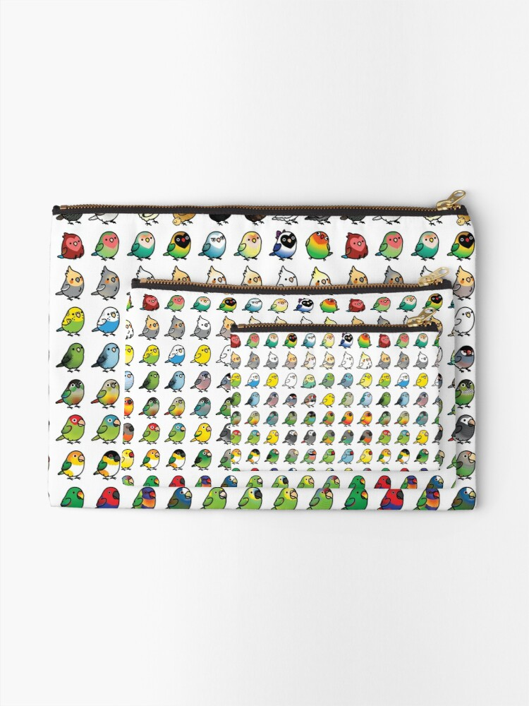 Alternate view of Everybirdy Collection Zipper Pouch
