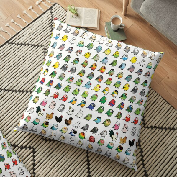 Everybirdy Collection Floor Pillow