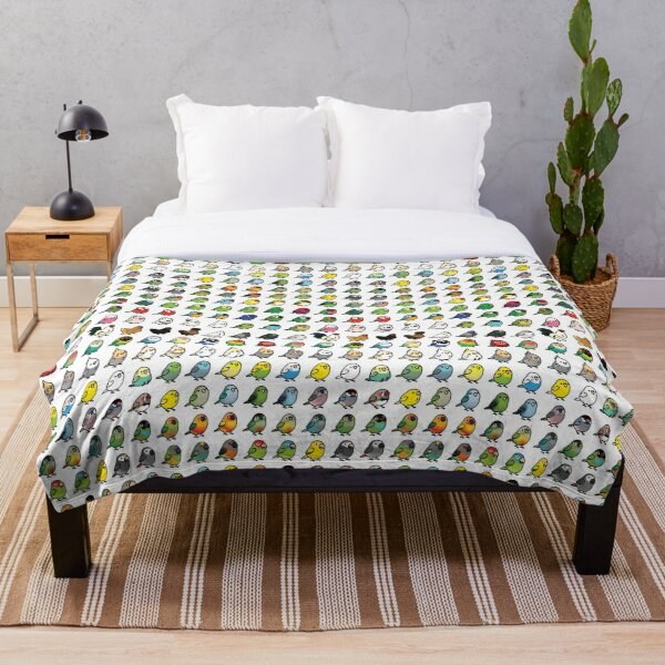 Everybirdy Collection Throw Blanket