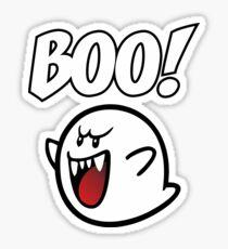 BOO Mario Ghost Sticker