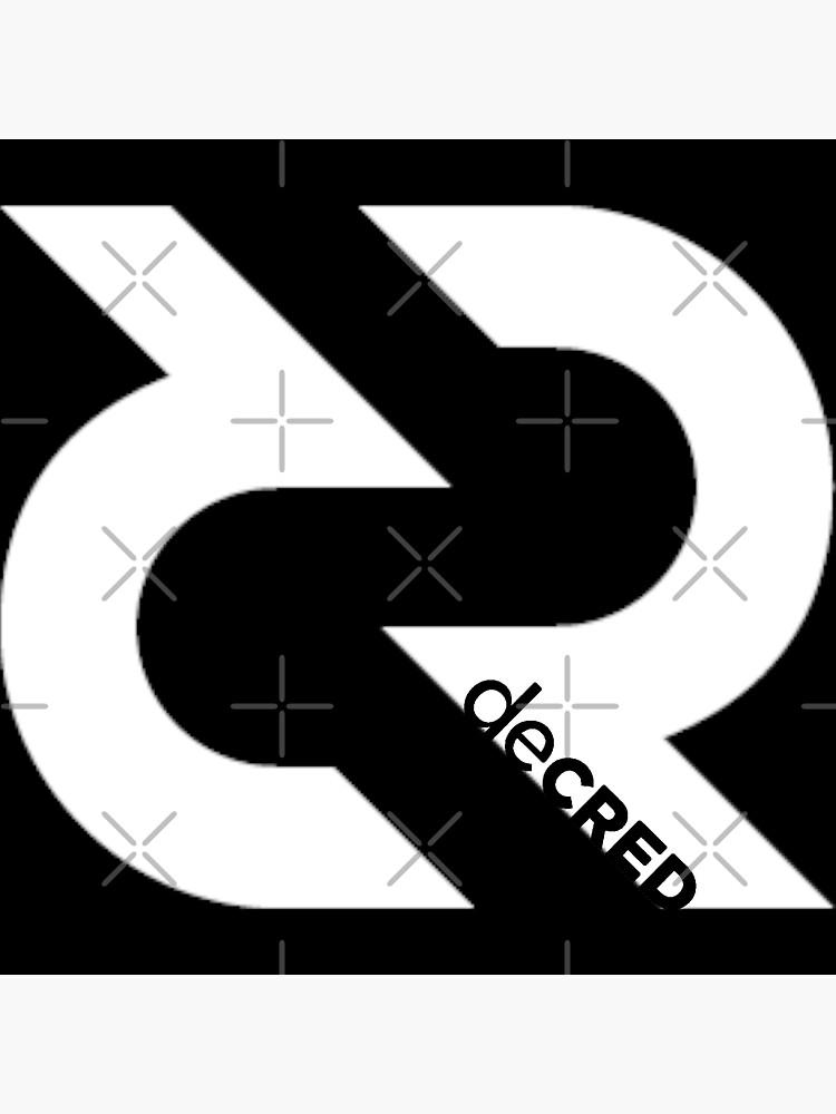 (sticker) Decred Logo v3 by OfficialCryptos
