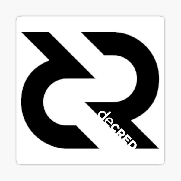 (sticker) Decred Logo v4 Sticker