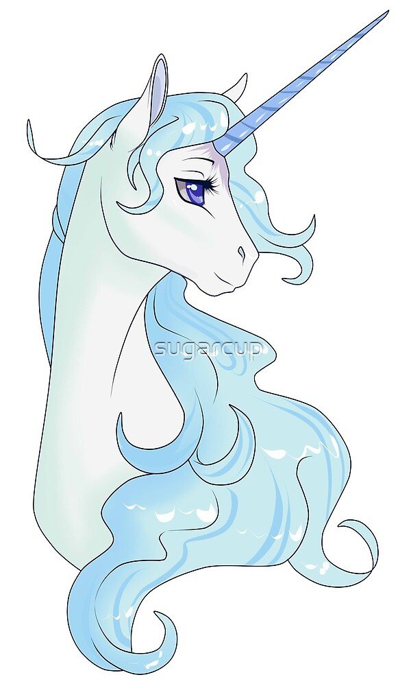 The Last Unicorn by sugarcup