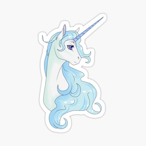 El ultimo unicornio Pegatina