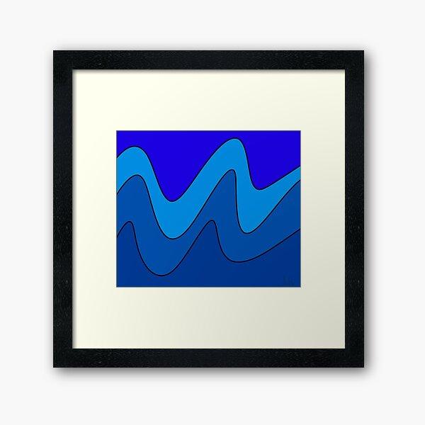 Abstract Mosaic Nineteen Framed Art Print