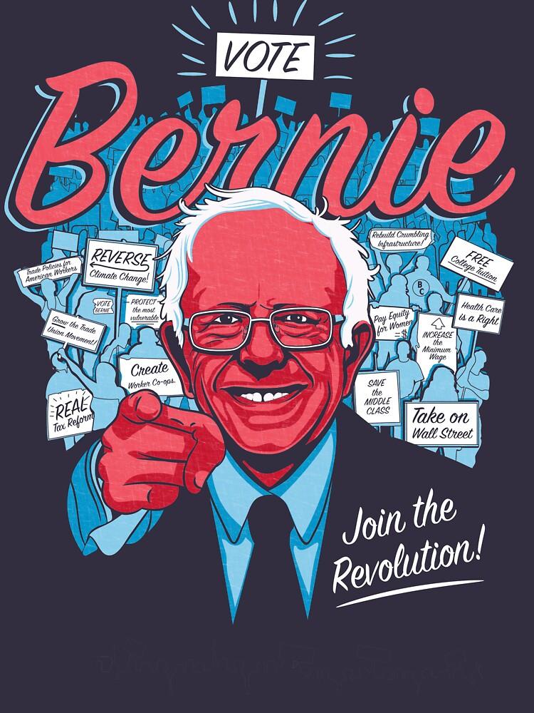Bernie Sanders Revolution  by briancrim