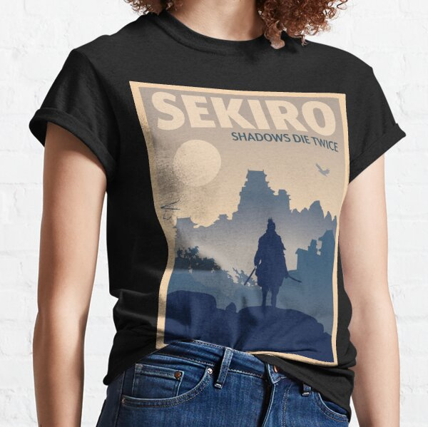 Sekiro Shadows Die Twice - Minimalist Travel Style - Video Game Art Classic T-Shirt