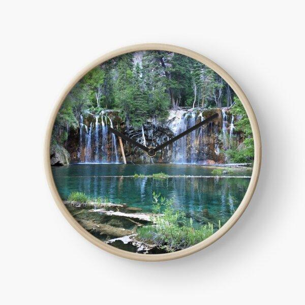 Hanging Lake in Glenwood Springs  Clock