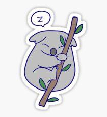 Kawaii Sleeping Koala Sticker