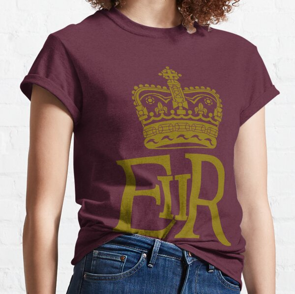 The Royal Cypher of Queen Elizabeth II Classic T-Shirt