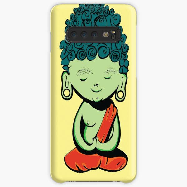 Young Green Buddah Samsung Galaxy Snap Case