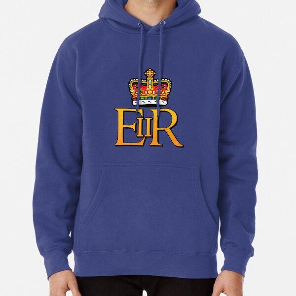 The Royal Cypher of Queen Elizabeth II Pullover Hoodie