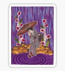 Purple Rain Sticker