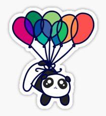 Kawaii Balloon Panda Sticker