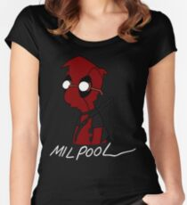 Milpool Women's Fitted Scoop T-Shirt