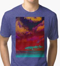 Rouge Sea Tri-blend T-Shirt