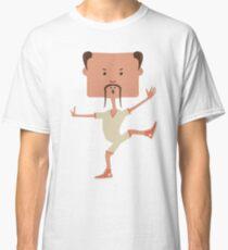 Funny karate man Classic T-Shirt