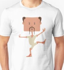 Funny karate man Unisex T-Shirt
