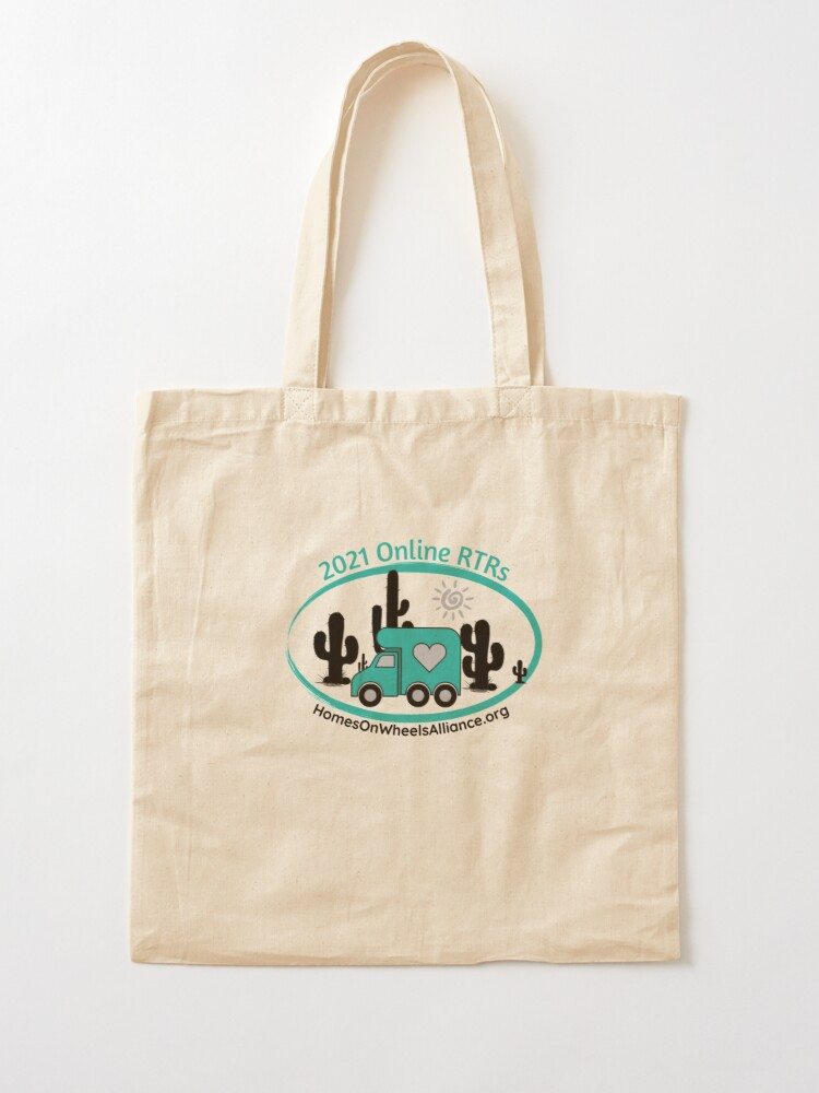 Alternate view of 2021 Online RTRs Tote Bag