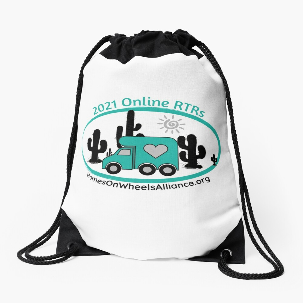 2021 Online RTRs Drawstring Bag
