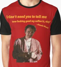 Jimmie Dimmick - Coffee Graphic T-Shirt