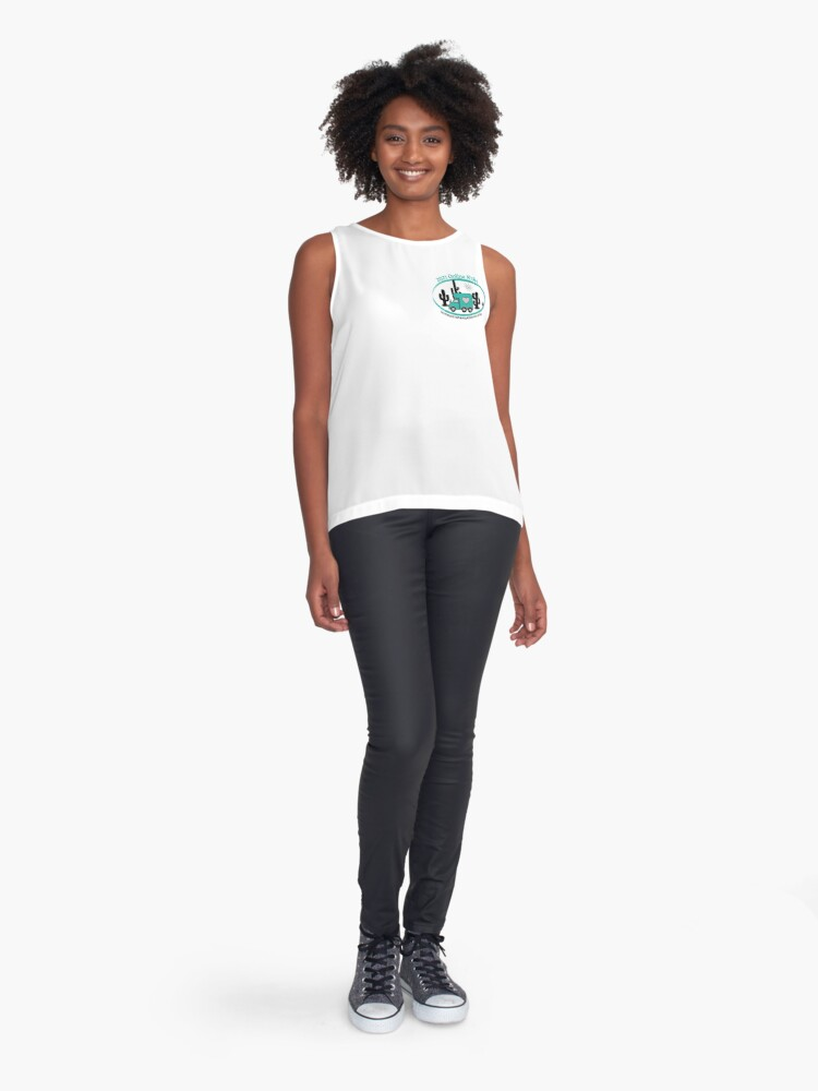 Alternate view of 2021 Online RTRs Sleeveless Top