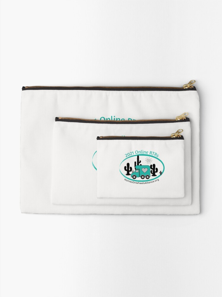 Alternate view of 2021 Online RTRs Zipper Pouch