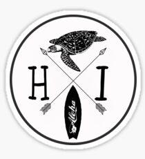 Aloha Hawaii v2 Sticker