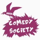 Comedy Society 2012 - 2014 Logo (Pink) by Ovinicus