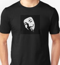 V for vendetta mask Unisex T-Shirt