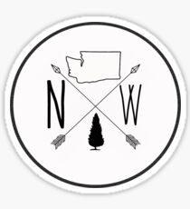 Northwest is Best - Washington version Sticker