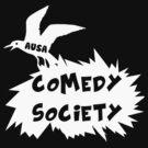 Comedy Society 2012 - 2014 Logo (White) by Ovinicus