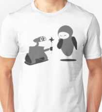 Wall-E... Proposing? Unisex T-Shirt