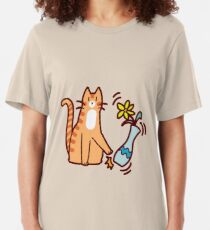 Camiseta ajustada Jerk Cat