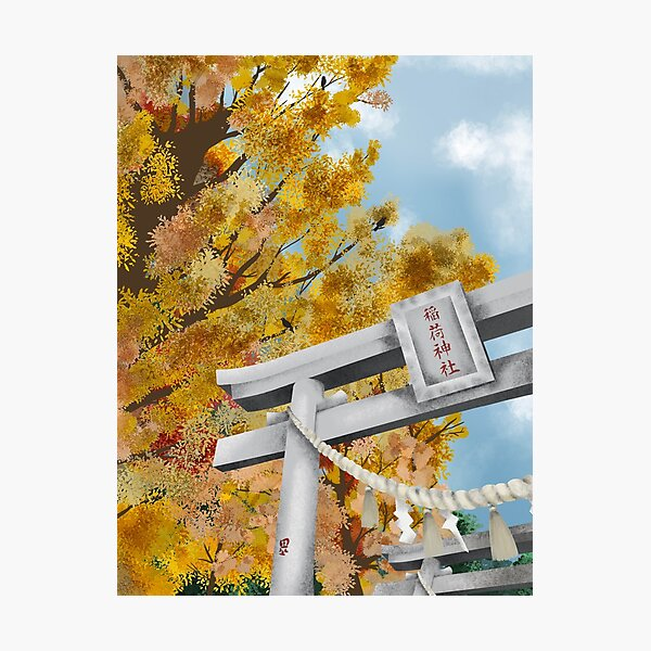 Tori couleurs d'automne Impression photo