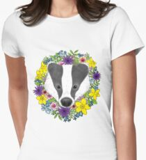 Spring Badger Women's Fitted T-Shirt