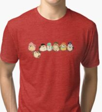 Baebsae Birds Tri-blend T-Shirt