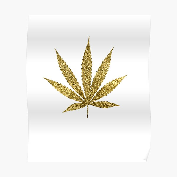 Painting Jamaican Flag Weed Leaf Silhouette Giant Wall Art Poster Print