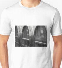 The Wine Barrels - Charcoal Impression Unisex T-Shirt