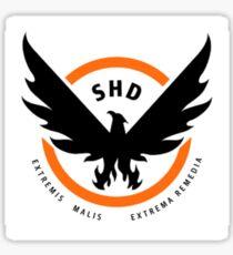 SHD- The Division (White) Sticker