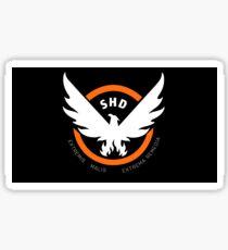 SHD - The Division (Black) Sticker
