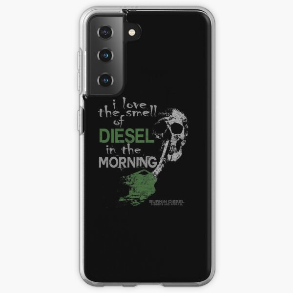 I Love The Smell Of Diesel In The Morning Samsung Galaxy Soft Case